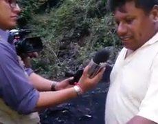 Padres de normalistas acuden al basurero de Cocula a buscar a sus hijos desmienten resultados de las autoridades