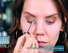 How to Rock Lady Gaga and Kim Kardashian's Metallic Eye Glam