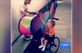 La discapacidad no es motivo para ser feliz en la vida!
