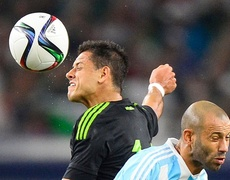 Mexico vs Argentina (2-2) Partido Amistoso 2015 - Todos los Goles