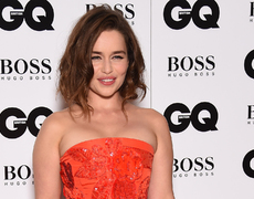 Emilia Clarke Crushes the GQ Men of the Year Awards Red Carpet