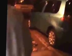 Dramatic video of earthquake in Chile
