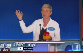 Ellen at the Republican Debate
