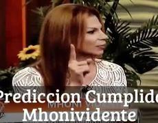 Predicción cumplida de Mhoni Vidente Fuerte Sismo en México