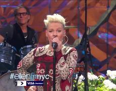 The Ellen Show - P!nk Performs