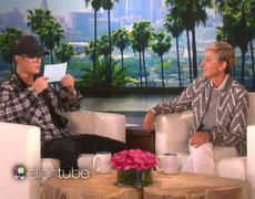 The Ellen Show - Justin Bieber talks about bum