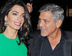 George and Amal Clooney Stun at NY Film Festival!