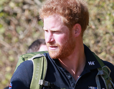 Prince Harry Jokes About Marriage