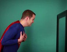 Real Men Transform Superheroes