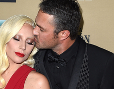Lady Gaga & Taylor Kinney Pack on the PDA!