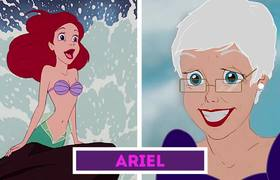 Could look Disney Princesses in their old age