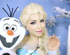 Elsa From Frozen Makeup Tutorial