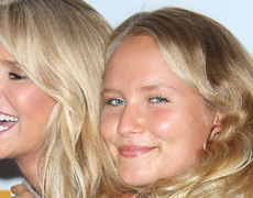 Christie Brinkley's Mini-Me Model Kids!