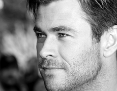 Chris Hemsworth's Mini-Me Workout Buddy