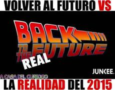 Expectation: Back to the Future vs. Reality: Year 2015