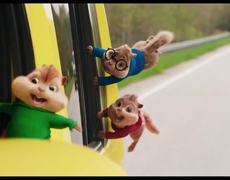 Alvin and the Chipmunks: The Road Chip - Official Movie TRAILER 1 (2015) HD - Bella Thorne, Kaley Cuoco Animation