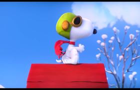 The Peanuts - Official Movie CLIP: The Red Baron (2015) HD - Animated Movie