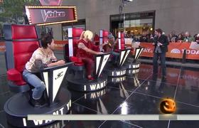 """Today Show Cast Impersonates Coaches For """"The Voice"""" Halloween Spoof"""