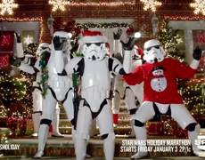 Star Wars wishes Merry Christmas