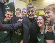 George Clooney Takes Scotland By Storm!
