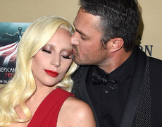 Lady Gaga's Makeup Free Selfie with Taylor Kinney