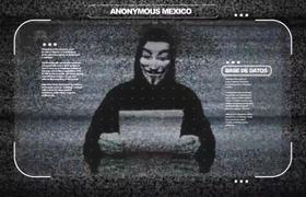 Anonymos responde a los ataques a Francia y Siria