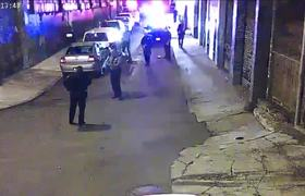 #CCTV - Police brutally beat a man in San Francisco