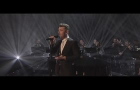 Sam Smith performing live Writing's On The Wall (The Graham Norton Show)