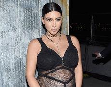 Kim Kardashian's Baby Is Breech