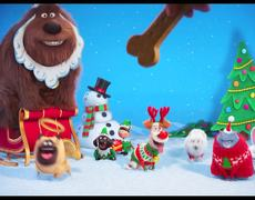 The Secret Life of Pets - Holiday Video Greeting (2016) HD - Animated Movie