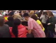 Fights at Walmart, Target, Best Buy by #BlackFriday