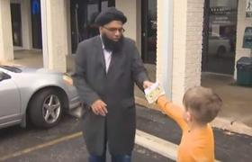7 year old boy donated his money mosque that was attacked