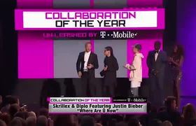 Justin Bieber - Skrillex and Diplo - Winners Collaboration of the year (American Music Awards 2015)