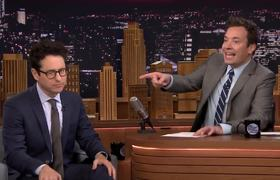 The Tonight Show: J.J. Abrams Broke His Back Trying Rescue Harrison Ford