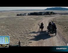 Adam Sandler Praises Rob Schneider's Horseback Riding!