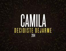 Camila Decidiste Dejarme Cover Audio Oficial HD