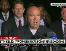 Police killed two suspects in the shooting in San Bernardino