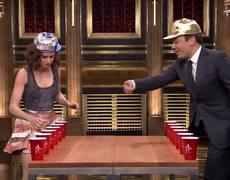 The Tonight Show: Volteando el vaso con Daisy Ridley
