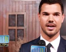 Taylor Lautner Reveals His Celeb Crush!