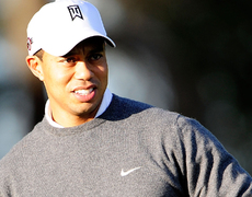 Tiger Woods Says He's Friends with Ex!