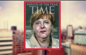 Angela Merkel is named Person of the Year by Time magazine