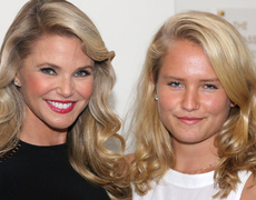 Christie Brinkley's Mini-Me Model Daughter!