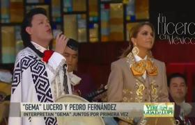 Lucero y Pedro Fernández