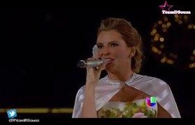 Marjorie de Sousa Le canta a la Virgen de Guadalupe