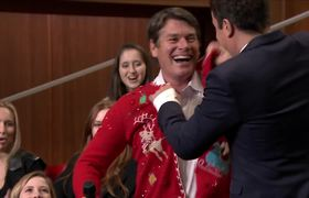 The Tonight Show - Day 7 of 12 Days of #Christmas Sweaters 2015