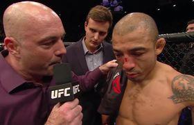 #UFC 194: Entrevista a Conor McGregor y Jose Aldo sobre el ring