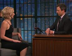 Late Night - J. Lawrence on Her Friendship with Amy Schumer