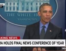Obama deja conferencia por Star Wars
