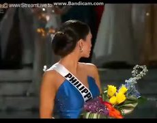 Crowning of Miss Philippines after Miss Universe 2015 error