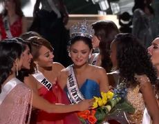 2015 Miss Universe Crowning Moment